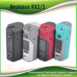 Wholesale Original Back Cover - Original Wismec Reuleaux RX2 3 TC Mod 150W 200W Replaceable Back Cover for Two Three Cells 100% genuine RX 23 Box Mod DHL Free 2235010
