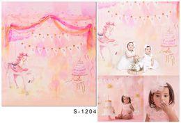 Wholesale Vinyl Backdrops For Photography Baby - 5*6.5FT Baby Newborn Backgrounds Photography Backdrops Toile De Fond Studio Photo Thin Cloth Vinyl Backdrops For Photography Children S-1204
