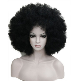 Wholesale Hair Colour 12 - Afro Jumbo Festival Fans Wig clown Costume Halloween Dress Up party Wigs Synthetic Hair COLOUR CHOICES