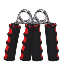 Wholesale Sponge Gripper - 200Pcs Professional Sponge Men Hand Grip Wrist Forearm Strength Training Hand Gripper Gym Power Fitness Hand Exerciser Heavy Grip Grips C074