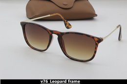 Wholesale red definition - Hot bursts of high quality fashion retro glasses men and women high-definition designer casual Korean version of the sunset