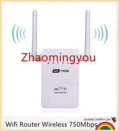 Wholesale Ac Band Router - ZHAO Wifi Router Wireless 750Mbps Original Mini Router Wifi Repeater 802.11 ac b g n Signal Amplifier Booster Dual-Band 2.4 5GHz