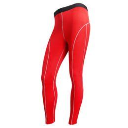 Canada Gros-6 couleurs hommes les plus récents garçon couche de base de compression serré pantalons longs pantalons sport serré sous la peau cheap boys compression pants Offre