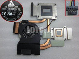 Wholesale Heatsink Hp - Free Shipping NEW For Hp dv6 dv6-6000 dv7-6000 laptop CPU Heatsink Cooling fan 666391-001 DELTA KSB0505HB -AJ77 4-Pin