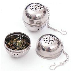 Wholesale Tea Egg Shaped Ball - Stainless Steel Teakettles Infuser Tea Strainer Egg Shaped Tea Locking Spice spoon Ball free shipping 15R