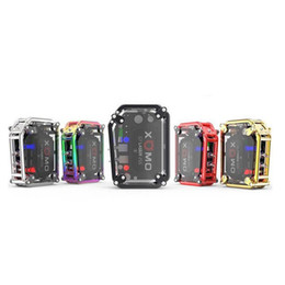 Wholesale build flash - 100% Original XOMO GT LASER 255 BOX MOD Built In 3500mAh Battery XOMO 2 Mod With LASER Flashing Lights Authentic 2255008