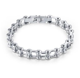 Wholesale Titanium Steel Bicycle Chain - Men's fashion bracelet titanium bicycle chain bicycle chain stainless steel jewelry bracelet jewelry wholesale Street personality