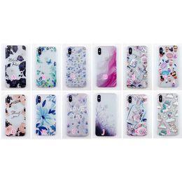 Canada Mode Fleur Givré Doux TPU Cas Pour Iphone X 8 Plus 7 Plus 6 6 S Matte Papillon Licorne Silicone Gel Téléphone Transparent Couverture Arrière Peau Offre