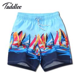 Wholesale Swimwear Designers - Wholesale-Men Swimwear Swim Shorts Designer Brand Surf Board Beach Shorts Trunks Swimsuits Casual Swimming Boxers Men's Running Shorts