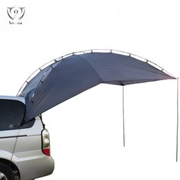 Wholesale Car Tent Canopy - Wholesale- Instant Partable Tailgate Tent Multi Use Awning Outdoor Canopy Tent for SUV Camper Tail Car Tent ZS9-235