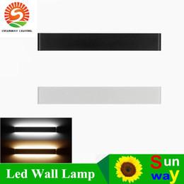 Wholesale Wall Mirror Wholesalers - High Lumen 1W 110Lum Modern minimalist LED aluminum wall lamp living room bedroom bedside lamp aisle wall lamp bathroom mirror lights