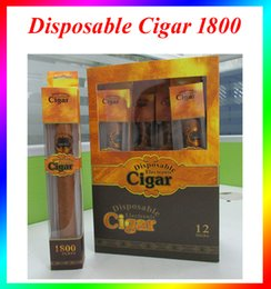 Wholesale Disposable Electronic Cigars - Cigar 1800 Puffs Electronic Cigarette E Cigars Vapor Powerful Cigarettes Better Than Shisha time disposable electronic cigarette