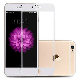 Wholesale Hd Coat - Tempered Glass Screen Protector For iPhone 6 6S 7 Plus Ultra Thin Anti-fingerprint Coating HD Glass Screen Protector Hot Sale Products