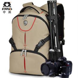 Wholesale Pentax Body - SINPAID Waterproof Camera Backpack 15.6 Inches Laptop Digital DSLR Bag Lens Case for Canon Rebel Nikon Sony Pentax Olympus