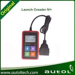 Wholesale X431 Car Scanner - Launch X431 Creader 4+ 100% Original car code scanner CReader IV Plus OBDII Auto Scanner CReader 4