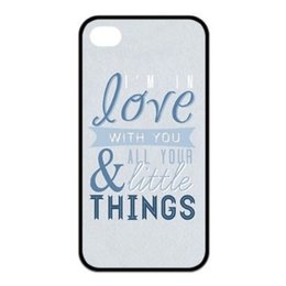 Wholesale 1d Iphone 4s Cases - Wholesale-1D One Direction Quote cases for iPhone 4s 5s 5c 6 Plus iPod touch 4 5 6 Samsung Galaxy s2 s3 s4 s5 mini s6 s7 edge note 2 3 4 5
