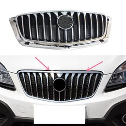 Wholesale Radiator Grills - 1pcs for Buick Encore 2012-16 Car Auto Front Radiator Upper Grille Grill Trim Refit Replacement diy