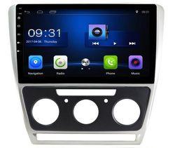 Canada 4-core Android 6.0 9inch voiture DVD Gps Navi Audio pour Skoda octavia 2007-2009 (manuel) avec commande au volant WIFI DVR 3G Offre