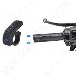 Wholesale Motorcycle Radio Control - V8 Motorcycle Helmet Bluetooth Intercom Helmet Headset Headphone 5 Riders Interphones Bluetooth Headset FM Radio Remote Control