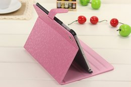 Wholesale Bling Ipad Case Stand - For iPad 2 3 4 5 Air Luxury Bling Diamond Pattern Stand Flip Smart Leather Case Cover With Auto Sleep Wake UP