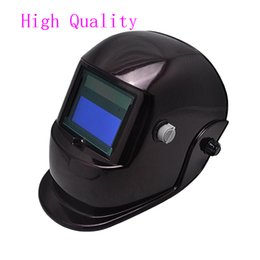 Wholesale Arc Auto - Pro Solar Free Shipping High Quality Auto Claret Welding Helmet Arc Tig Mig Mask Grinding Welder Mask
