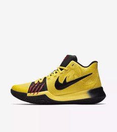 Wholesale Mint Gifts - Kyrie 3 bruce lee Mamba Mentality for sale Top Quality Kyrie Irving Basketball shoes Christmas gift free shipping US7-US12
