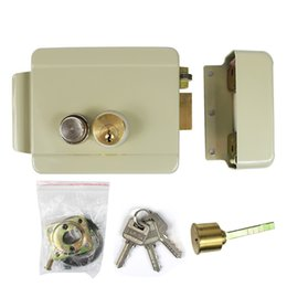 Wholesale Door Access Control Video Systems - Electric Lock Electronic Door Lock for Video Intercom Doorbell Door Access Control System Video Door Phone Best for Home F1666Y