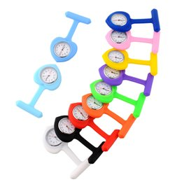 Argentina Forma de corazón Siicone Nurse Fobwatch Reloj Relojes Diseño de juguetes de silicona de la Cruz Roja Suministro