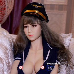 Wholesale Sex Doll Big Breast - New Asian Lady sex dolls oral love doll realistic sex toys for men big breast sexy 165cm vagina adult dolls