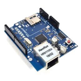 Carte d'extension pour carte SD de carte de développement réseau Ethernet W5100 pour Arduino ? partir de fabricateur