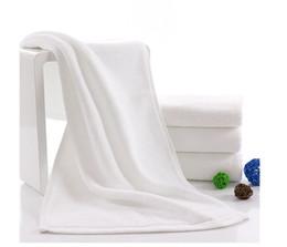Wholesale Salon Cotton Towels - Hot Sale New White 100% Cotton Bath Towels Face Towel SPA Salon Towel High Quality wen4256