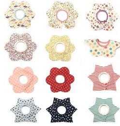 Wholesale Dot Bath Towel - Baby swaddle bibs newborn kids cotton bath towel infant stripe polka dots love heart floral printed burp cloths baby saliva towel R0068