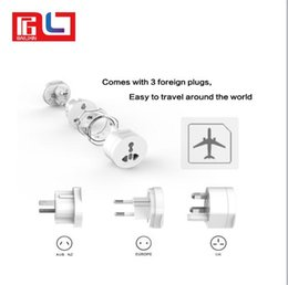 Wholesale socket plugs - UTA Universal Electrical Plug Adapter Travel Power Socket Converter Outlet All in One Worldwide Use for US  UK  EU  AU