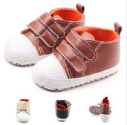 Wholesale China Wholesale Fallen Shoes - Free shipping soft PU baby sports shoes,black brown yellow toddler Casual walking shoes,fall kids shoes,china boys shoes!12pairs 24pcs.C