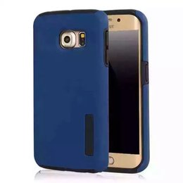 Wholesale Wallets For Iphone5 - Hybrid PC+TPU 2 in 1 Shockproof Slim Armor Case Cover for s6 s6edge for apple iphone5 6 6s