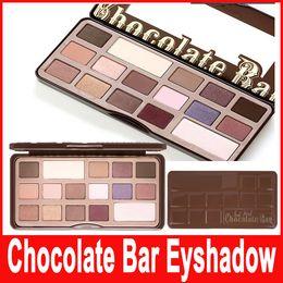 Wholesale Cheap Matte Eyeshadow Palettes - Cheap Cosmetics 16 Colors Eyeshadow Chocolate Bar Makeup wholesale eyeshadow palette sweet Generation 1 eyeshadow Free shipping