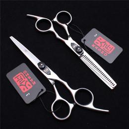 "Wholesale Hair Cutting Shears Black - H1003 6"" Black Screw Japan 440C Kasho Professional Human Hair Scissors Barber's Hairdressing Scissors Cutting or Thinning Shears Style Tools"