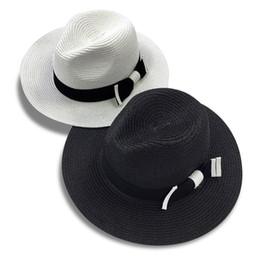 chapéus panama brancos Desconto Venda por atacado- Venda quente de verão  bowknot moda chapéus de d93b45c2157