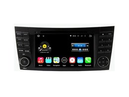 Wholesale Radios Mercedes Benz - 7'' Quad Core Android 5.1.1 Car DVD Player For E-Class W211(2002-2008) (E200 E220 E240 E270 E280) CLS W219 2005-2010