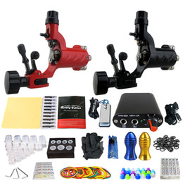 Wholesale Power Supply 16 - solong tattoo tattoo NEW complete kit without ink power supply +foot pedal+2 alloy grips+tattoo accessories TK201-16