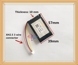 Wholesale Gp Battery Rechargeable - 3.7V 103957 2600MAH batteryfor GPS Lithium Ion battery for MP3 MP4 player