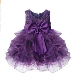 Atacado- mais novo infantil bebê menina vestidos de festa de aniversário baptismo baptizado vestido de páscoa criança princesa arco vestido de princesa por 0-2 anos de