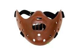 Wholesale Silence Lambs - Brand New Hannibal Half Face Mask High Aesthetics And Texture Halloween Movie Silence Of The Lambs Theme Resin Masks Hot Sale Free Shipping