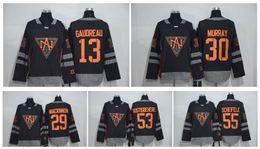 Wholesale North Men - 2016 World Cup Team North America Hockey Jerseys 34 Matthews 97 McDavid 15 Eichel 13 Gaudreau 30 Murray 53 Gostisbehere Larkin 55 Scheifele