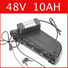 Wholesale usb bike charger - 48V 10AH lithium battery Multifunction USB Frame 54.6V lithium ion battery + charger + BMS , electric bike pack Free customs duty