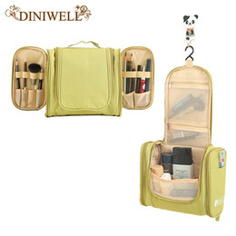 Wholesale Bedding Sets Bag - Wholesale- DINIWELL Portable Women Waterproof Cosmetic Makeup Storage Organizer Bag For Camping Holiday Travel Outdoors