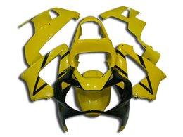 Wholesale Cbr Custom Fairings - Custom Black Yellow Free Gifts Fairings for HONDA CBR929RR 2000 CBR900RR 2001 CBR929 00 01 CBR 929RR 2000-2001 Injection Mold ABS Plastic
