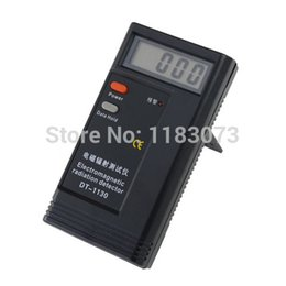 Wholesale Detector Mobile Phone - LCD Electronic Electromagnetic Radiation Detector DT-1130 Digital EMF Meter Frequency Tester For Computer Mobile Phones Free Shipping