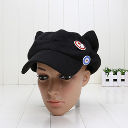 Wholesale Asuka Langley - Evangelion cosplay Asuka Langley Soryu EVA Cat Ear Polar Fleece Hat