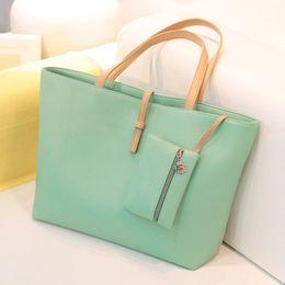 Wholesale Buckle Shoulder Bag - free shipping 2016 new style women bags The fashion leisure female bag Single shoulder bag pu belt buckle 8 colors